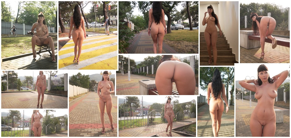 Dared to walk around naked